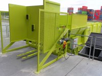 Angebaute, stationäre oder mobile Hub-Kippvorrichtung